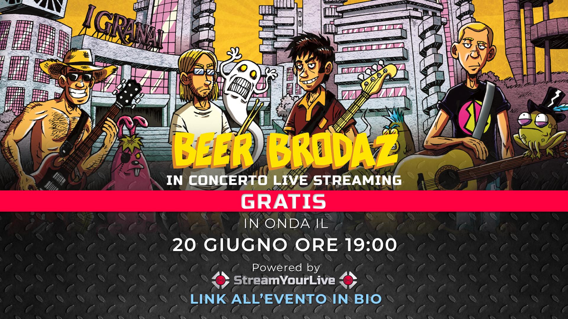 LIVE: BEER BRODAZ