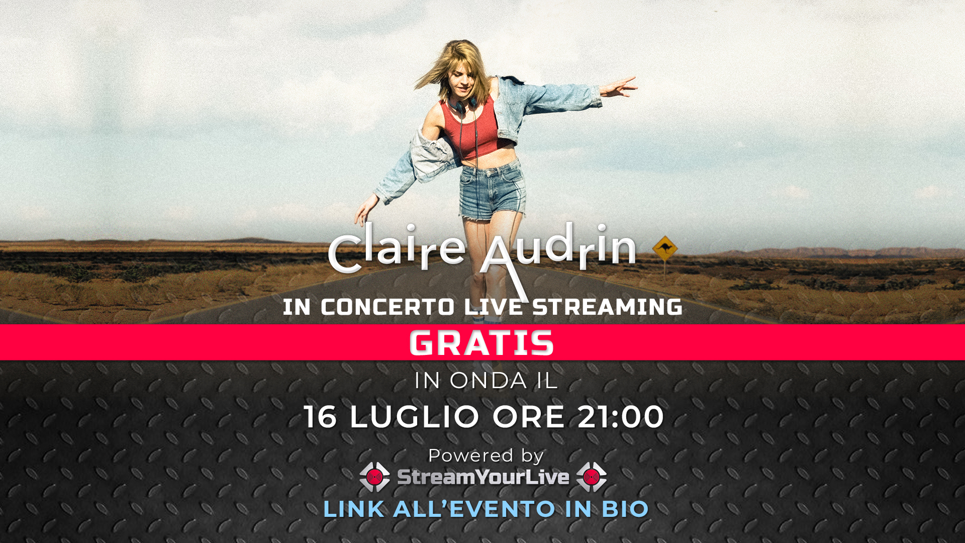LIVE: CLAIRE AUDRIN